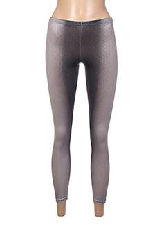 Legging gris DISTRICT pour femme