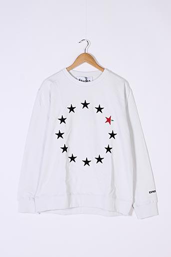 Sweat-shirt blanc ETUDES pour homme