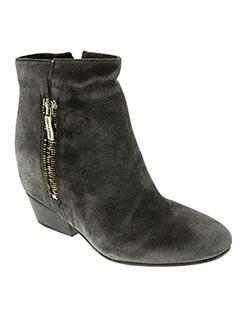 Bottines/Boots gris JANET & JANET pour femme