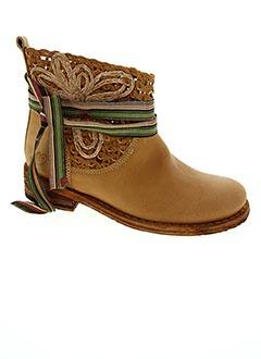 Bottines/Boots marron LE TEMPS DES CERISES pour femme
