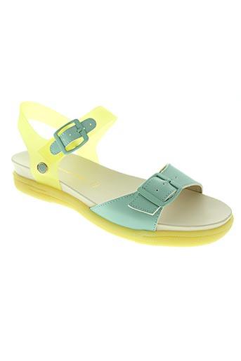 Sandales/Nu pieds bleu CHOCOLATE SCHUBAR pour femme