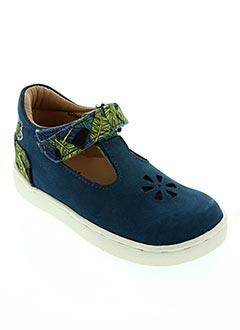 Sandales/Nu pieds bleu ASTER pour fille