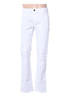 Jeans coupe droite gris TRUSSARDI JEANS pour homme