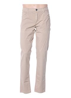 Pantalon casual beige TRUSSARDI JEANS pour homme