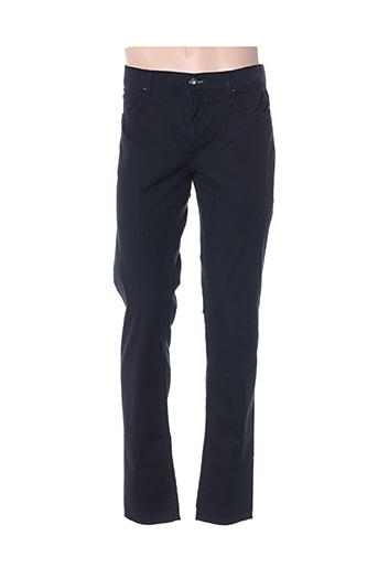 Pantalon casual noir TRUSSARDI JEANS pour homme