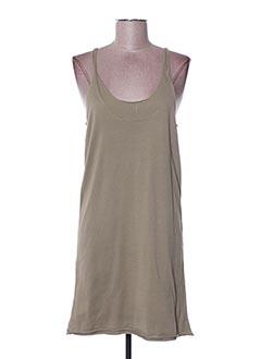Robe courte vert DIABLESS pour femme