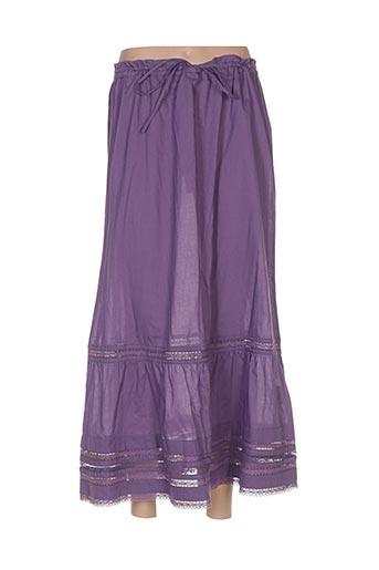 Jupe longue violet DIMENSION pour femme