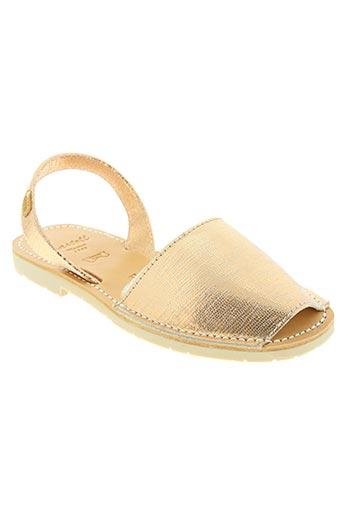 Sandales/Nu pieds marron CASTELL MENORCA pour femme