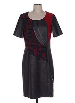 Robe mi-longue noir JEAN DELFIN pour femme