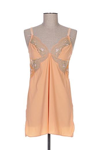 Nuisette/combinette orange SWAN ORIGINAL pour femme