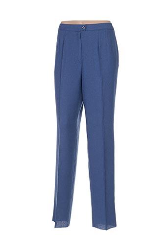 Pantalon chic bleu CHRISTIAN MICHEL pour femme