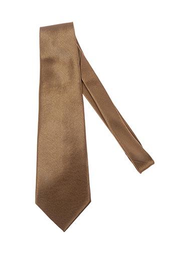 Cravate jaune ISADOR pour homme