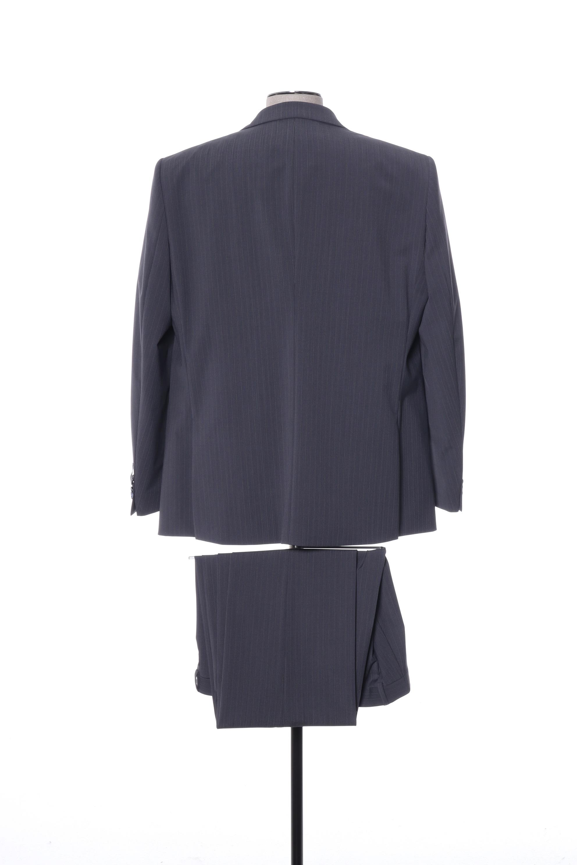 Bruno Saint Hilaire Costumes Ville Homme De Couleur Gris En Soldes Pas Cher 1411049-gris00