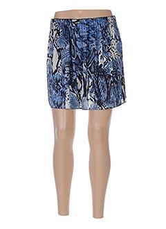 Jupe courte bleu SCHOOL RAG pour femme