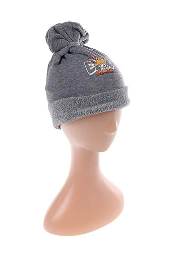 Bonnet gris COMPLICES pour garçon