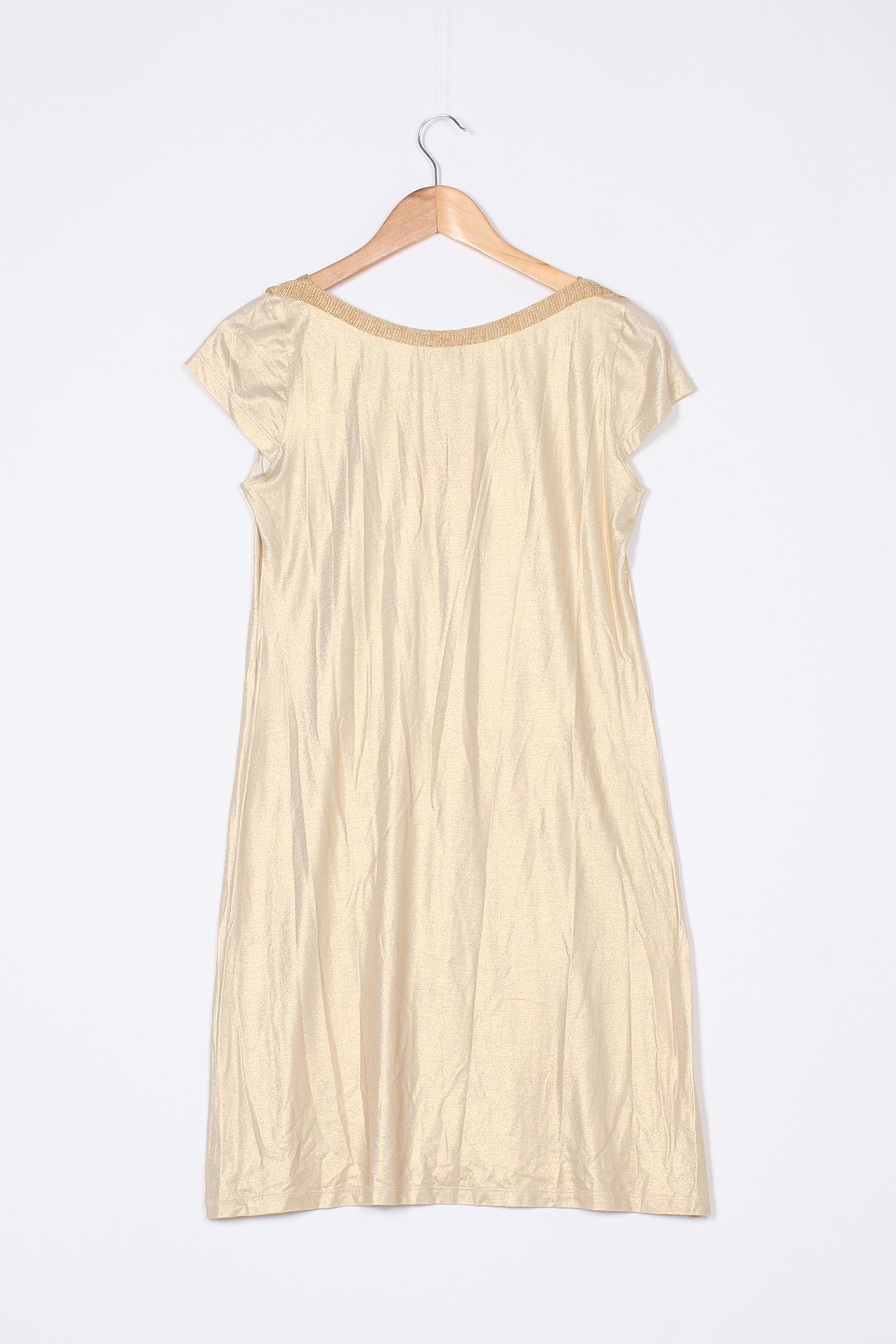 Lo Les Filles Robes Mi Longues Femme De Couleur Beige En Soldes Pas Cher 1397267-beige0
