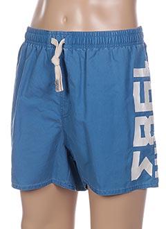 Short bleu CAMPS UNITED pour homme