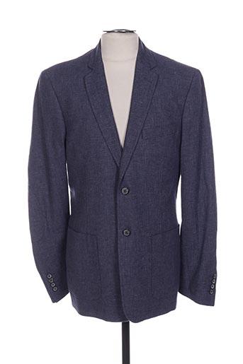 Veste chic / Blazer bleu CAMBRIDGE pour homme