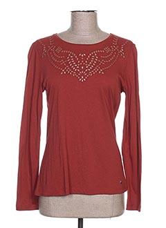 T-shirt manches longues marron KATMAI pour femme