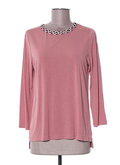 T-shirt manches longues rose KATMAI pour femme