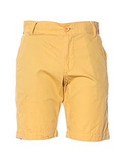 Bermuda jaune CAMPS UNITED pour homme