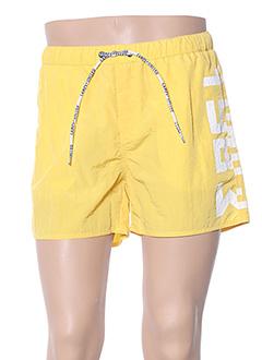 Short jaune CAMPS UNITED pour homme