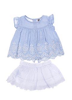 Top/jupe bleu LOSAN pour fille