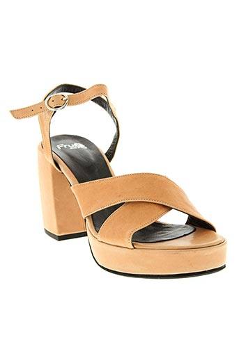 Sandales/Nu pieds rose FRUIT pour femme