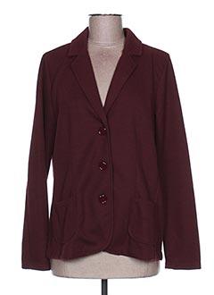 Veste chic / Blazer rouge GINA LAURA pour femme