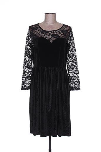 Robe courte noir CAMOMILLA pour femme