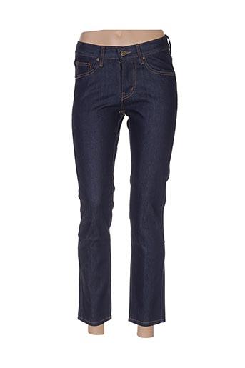 Jeans coupe slim bleu BOOM STYLE pour femme