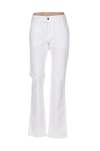 Pantalon casual blanc ORIGINAL MARINES pour femme