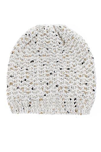 Bonnet blanc PUSBLU pour fille