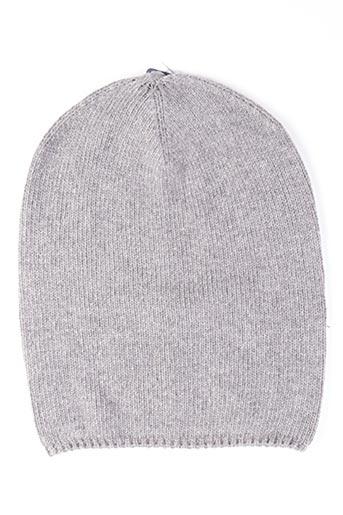 Bonnet gris MAXIMO pour femme