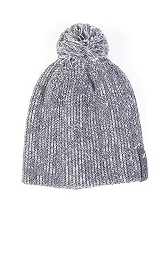Bonnet gris MAXIMO pour garçon