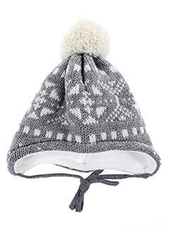 Bonnet gris MAXIMO pour enfant