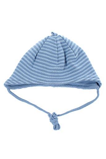 Bonnet bleu ALANA pour garçon