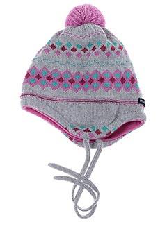 Bonnet gris MAXIMO pour fille