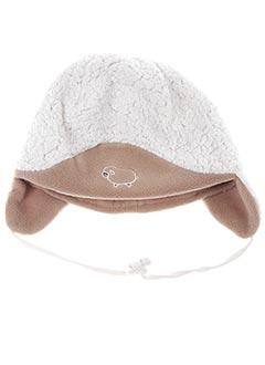 Bonnet beige PUSBLU pour garçon