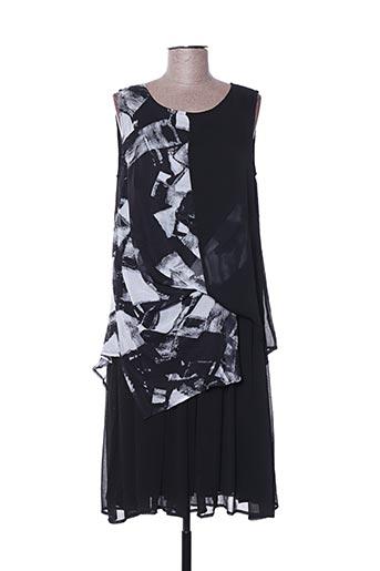 Robe mi-longue noir C'FAIT POUR VOUS pour femme