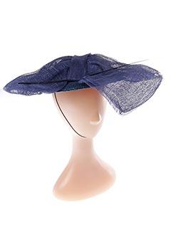 Chapeau bleu E.WERLE pour femme
