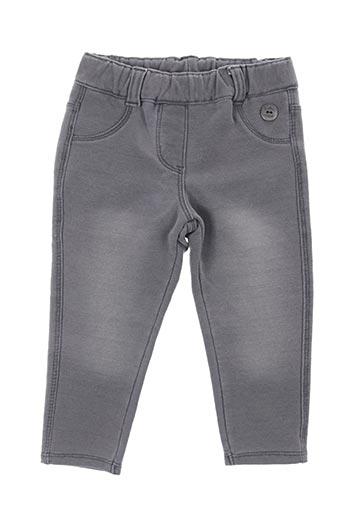 Pantalon casual gris BOBOLI pour fille