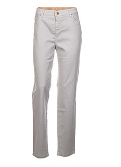 Pantalon casual gris LCDN pour femme