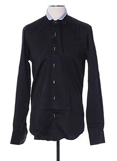 Chemise manches longues noir AUTHENTIQUE pour homme