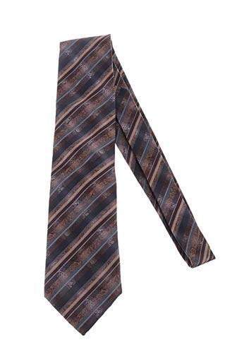 Cravate marron GREGE CREATION pour homme