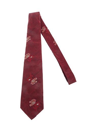 Cravate rouge AUTHENTIQUE pour homme