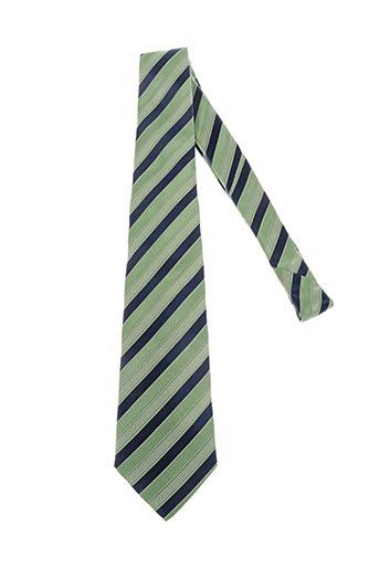 Cravate vert AUTHENTIQUE pour homme