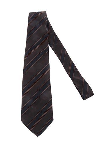 Cravate vert HUGO BOSS pour homme