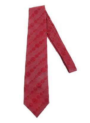 Cravate rouge GREGE CREATION pour homme