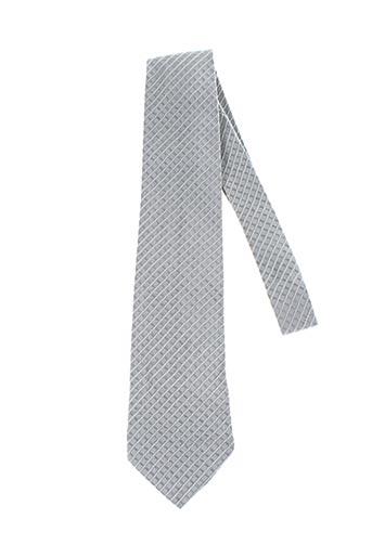 Cravate gris CERRUTI 1881 pour homme